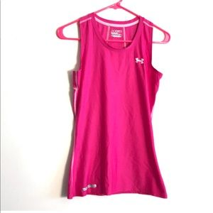 Under Armour Heat Gear Fitted Active Tank Top